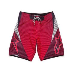 Alpinestars Faze Rival Boardshorts - Red - Mens Boardshorts