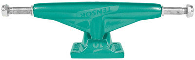 Tensor Aluminum Low Tens Colored - Mint Green - 5.0 - Skateboard Trucks (Set of 2)