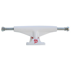Tensor Aluminum Low Tens Colored - White - 5.0 - Skateboard Trucks (Set of 2)