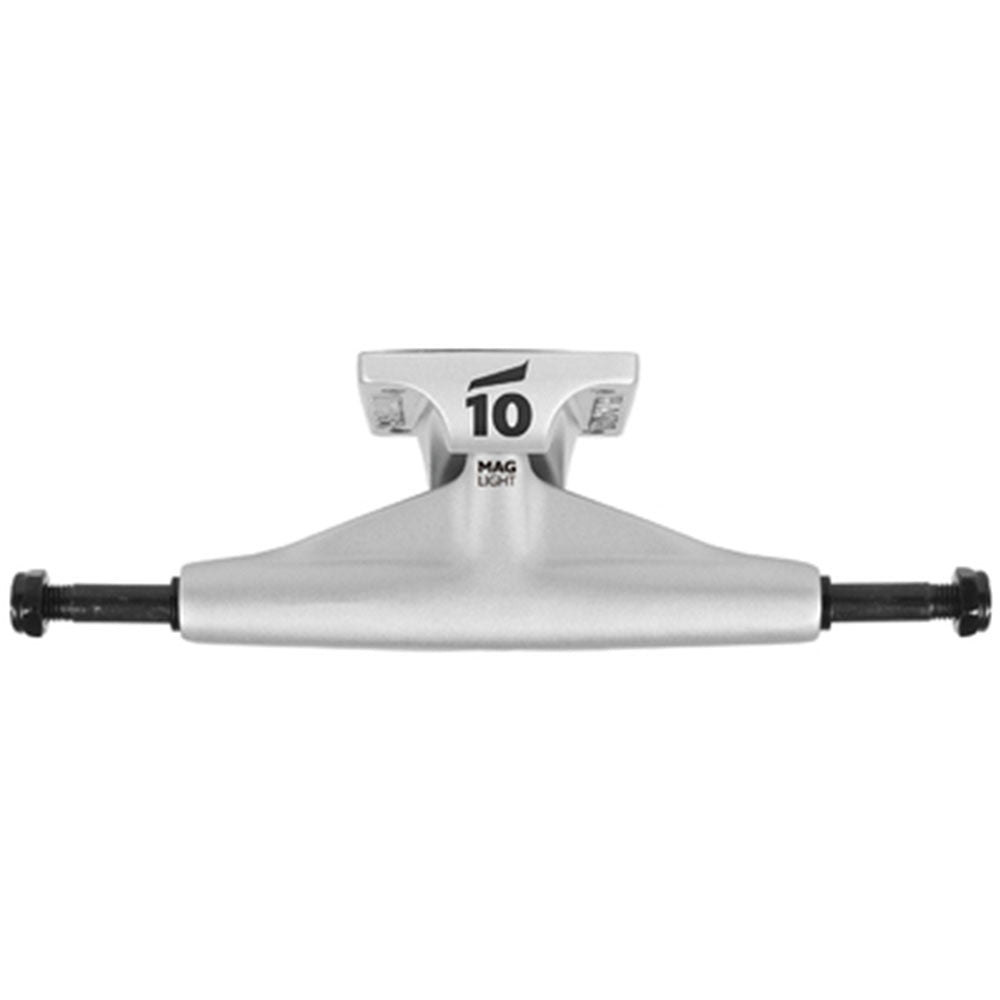 Tensor Magnesium Light Low Tens Colored - Silver - 5.25 - Skateboard Trucks (Set of 2)