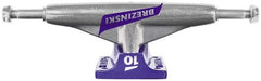 Tensor Aluminum Lo Tens Colored Flick - Brezinski/Raw/Purple - 5.0 - Skateboard Trucks (Set of 2)