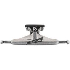 Tensor Aluminum Low Tens Colored Flick - Raw/Black - 5.25 - Skateboard Trucks (Set of 2)