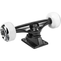 Slant Darkstar Truck/Wheel Combo - Black - 5.25 - Skateboard Trucks (Set of 2)