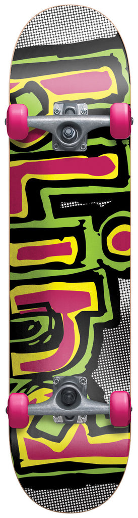 Blind OG Logo Halftone Youth - Multi - 7.3in - Complete Skateboard