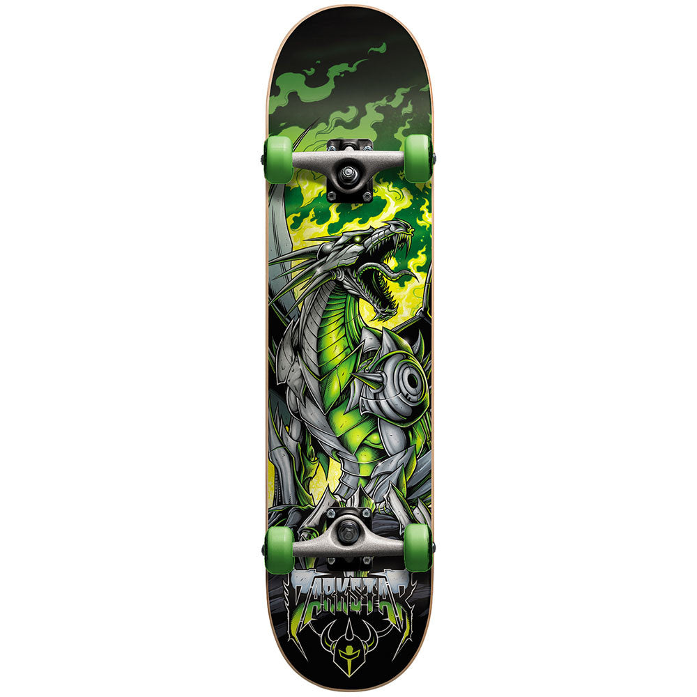 Darkstar Dragon Youth Micro FP - Green - 6.75 - Complete Skateboard