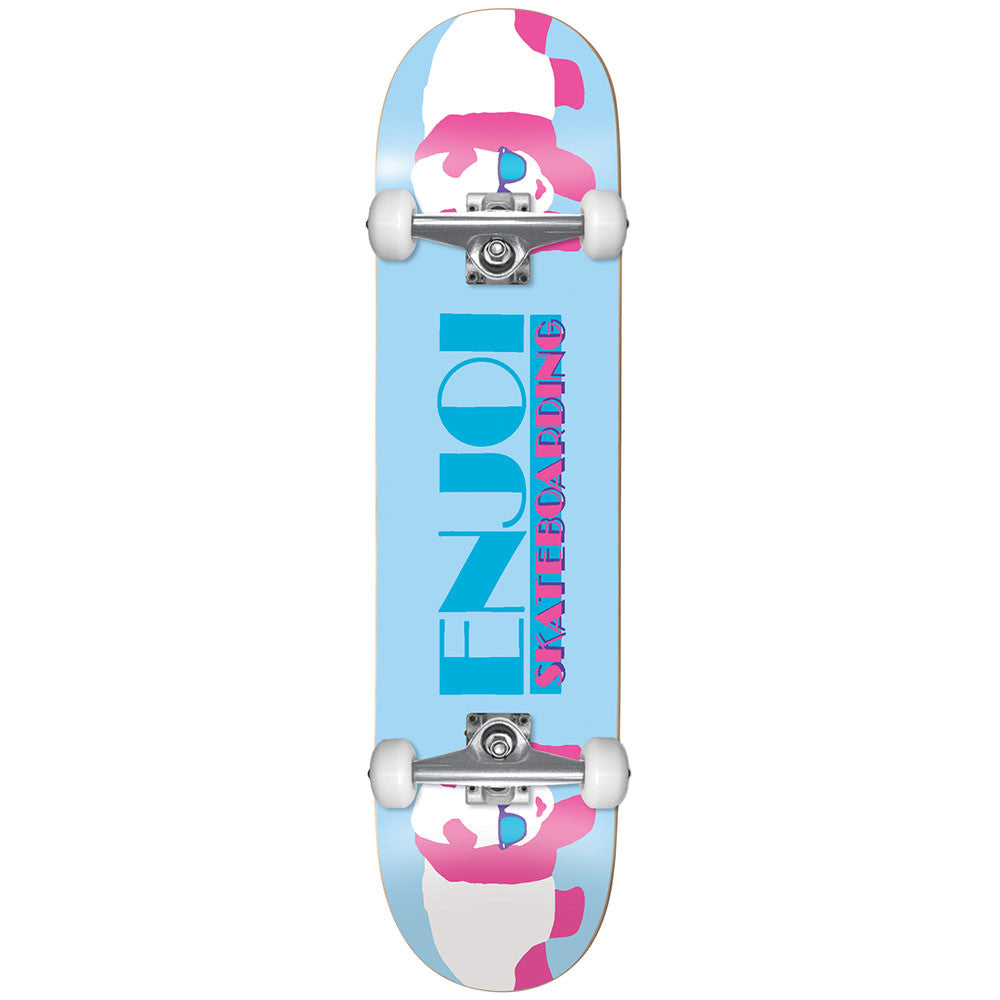 Enjoi Panda Vice - Light Blue - 8.0 - Complete Skateboard