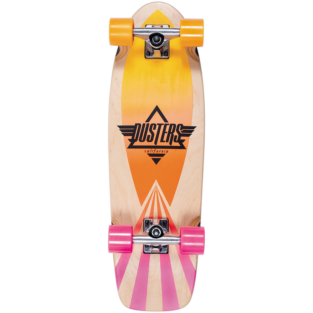 Dusters Cazh Cruiser - Sunset Fade - 28.5 - Complete Skateboard