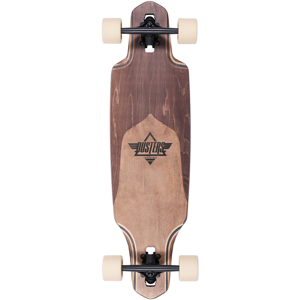 Dusters Channel Split Maple - Natural/Brown - 34in - Complete Skateboard