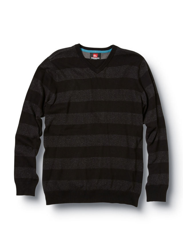 Quiksilver Moss Sweater - Black - Mens Sweatshirt