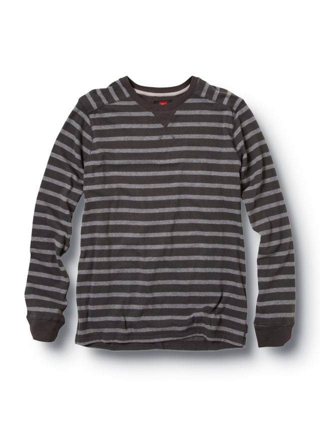 Quiksilver Snitted Sweater - Black - Mens Sweatshirt