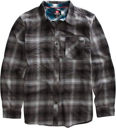 Quiksilver Fog Shirt - Grey - Mens T-Shirt