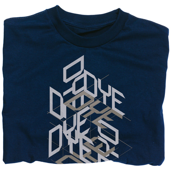 2011 Dye Stacked T-Shirt - Navy