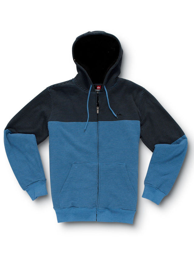 Quiksilver Pull In Sweatshirt - Blue - Mens Sweatshirt