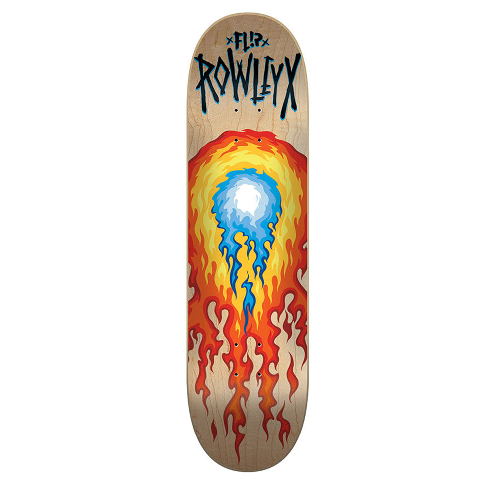 Flip Rowley Hotshot - Natural - 8.25in x 32.31in - Skateboard Deck