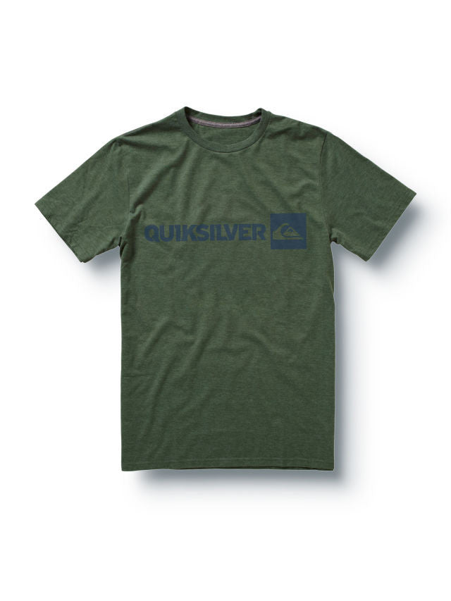 Quiksilver Industry Slim Fit T-Shirt - Green - Mens T-Shirt