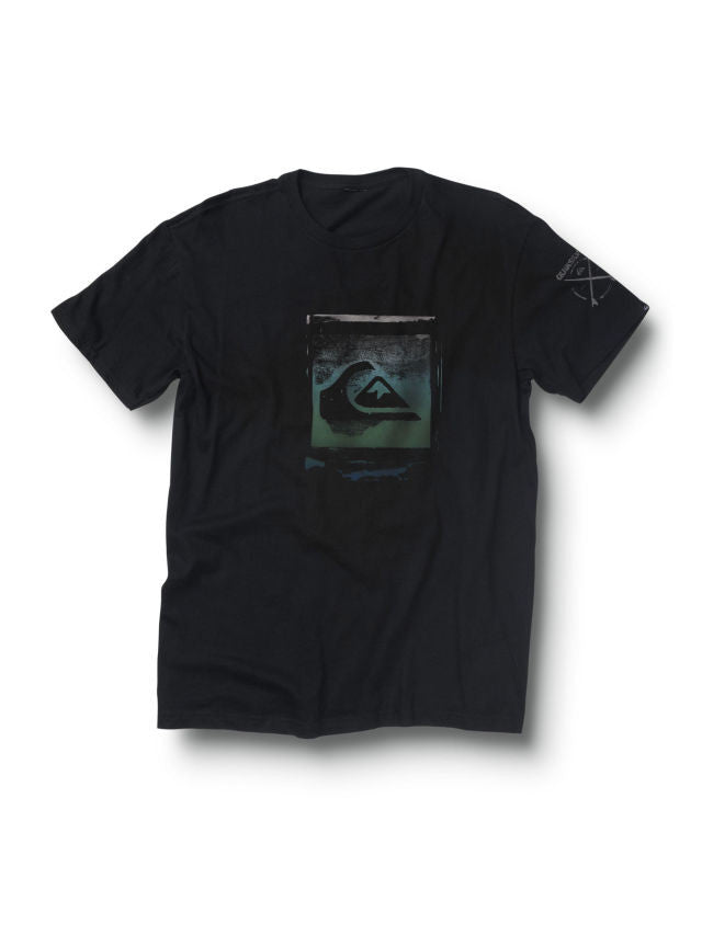 Quiksilver Stamped T-Shirt - Black - Mens T-Shirt