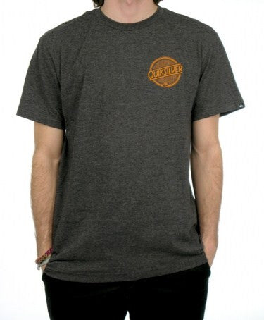 Quiksilver Money T-Shirt - Grey - Mens T-Shirt