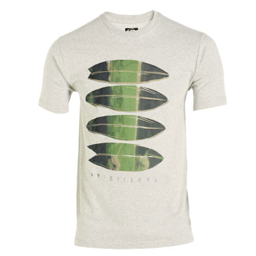 Quiksilver Shortstack T-Shirt - White - Mens T-Shirt