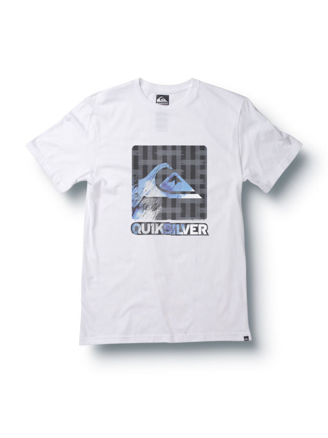 Quiksilver The Mostest Slim Fit T-Shirt - White - Mens T-Shirt