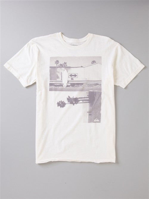 Quiksilver Any Which Way Tee - White - Mens T-Shirt