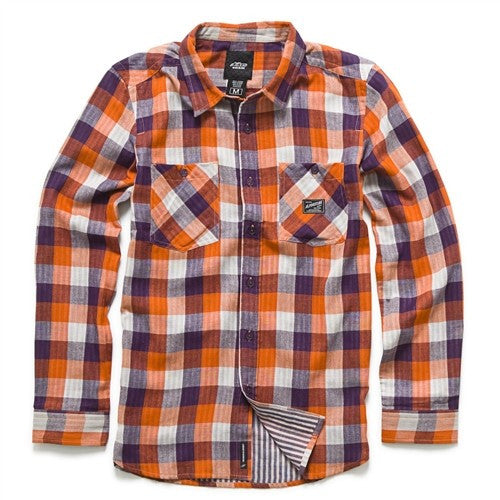 Alpinestars Television L/S Shirt - Orange - Mens T-Shirt