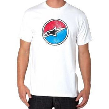 Alpinestars Pace Tee - White - Mens T-Shirt