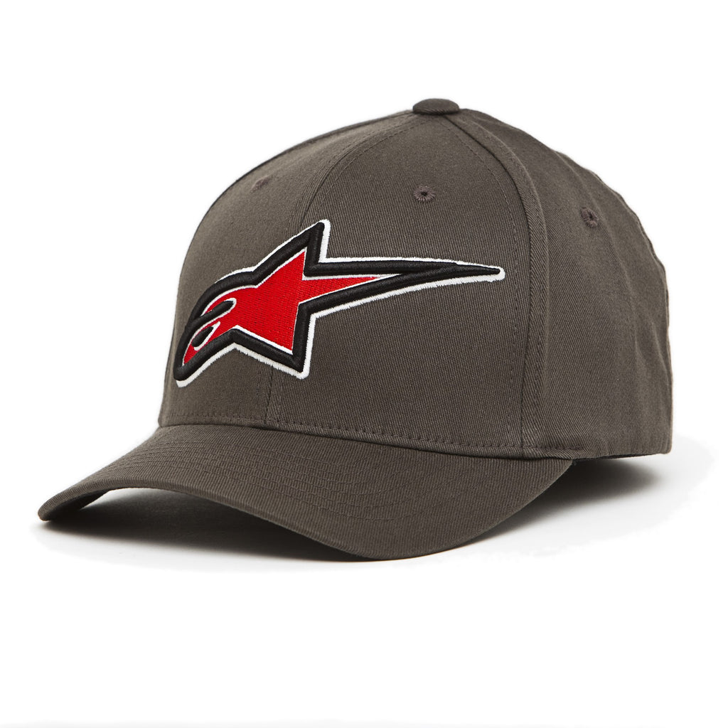 Alpinestars Brandstar Flexfit Hat - Grey - Men's Hat