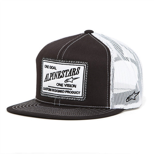 Alpinestars Crasher Trucker Hat - Black - Men's Hat