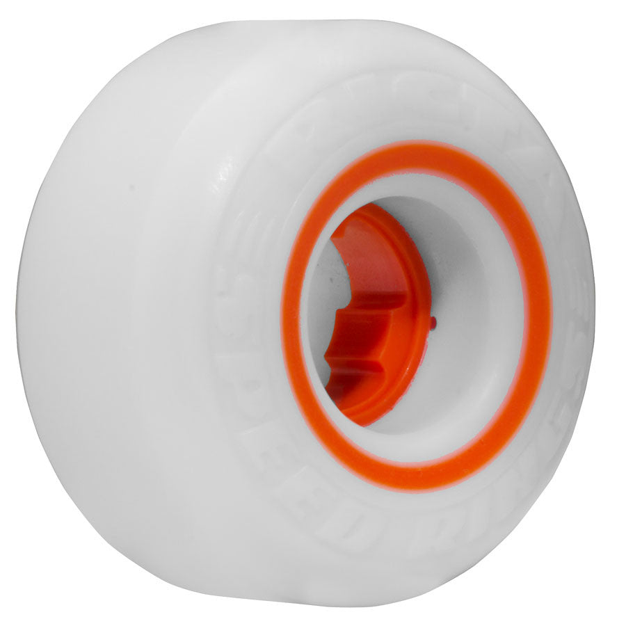 Ricta Speedrings - White - 54mm 81a - Skateboard Wheels (Set of 4)