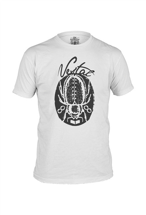 Vestal Roach T-Shirt - White - Mens T-Shirt