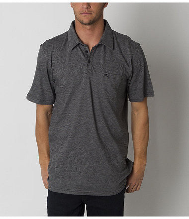 O'Neill Fathom Polo - Black - Mens T-Shirt
