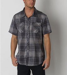 O'Neill Overland Woven Shirt - Black - Mens T-Shirt