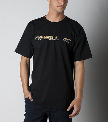 O'Neill Lock Up T-Shirt - Black - Mens T-Shirt