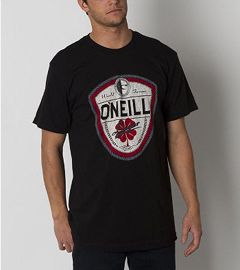 O'Neill Dublin T-Shirt - Black - Mens T-Shirt