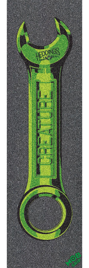 Mob Creature Heddings Wrench Grip Tape 9in x 33in - Skateboard Griptape (1 Sheet)