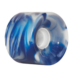 OJ Hot Juice - Blue/White Swirls - 60mm 78a - Skateboard Wheels (Set of 4)
