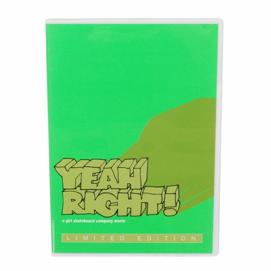Girl Yeah Right - DVD