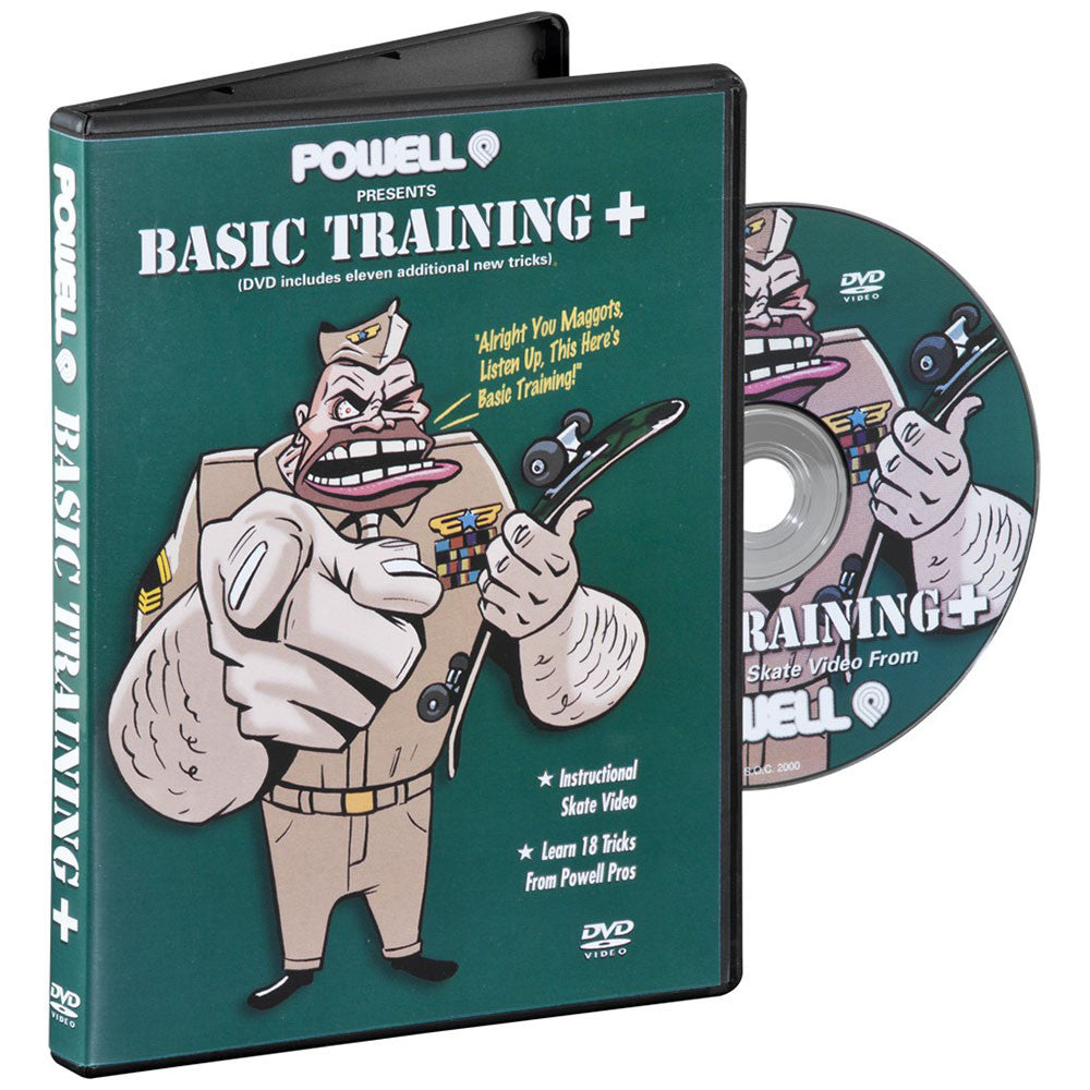 Powell Peralta Classic Basic Training Plus - DVD