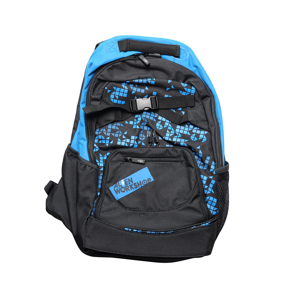 Alien Workshop Geometron - Black/Royal - Backpack