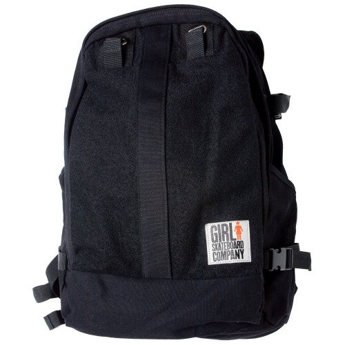 Girl Wool Skate Carrier - Black - Backpack