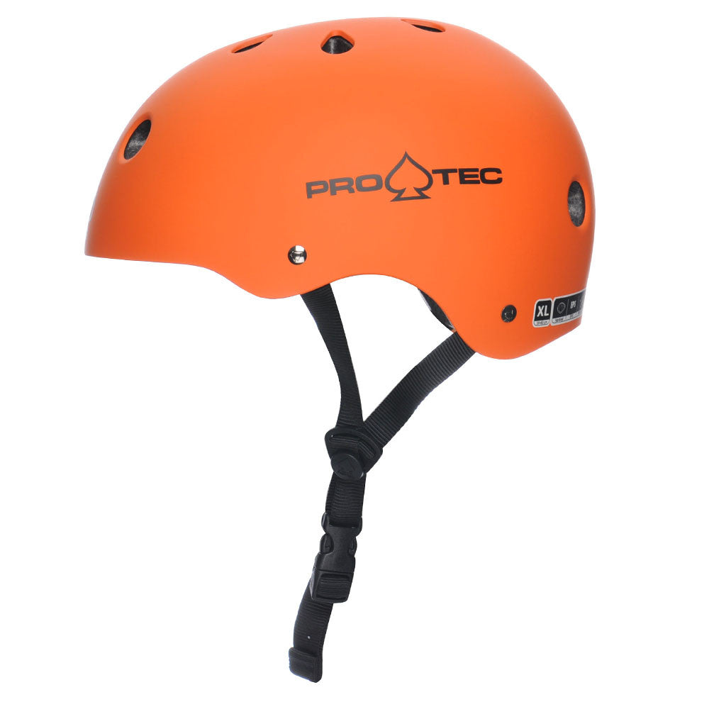 Pro-Tec The Classic - Matte Orange - Skateboard Helmet