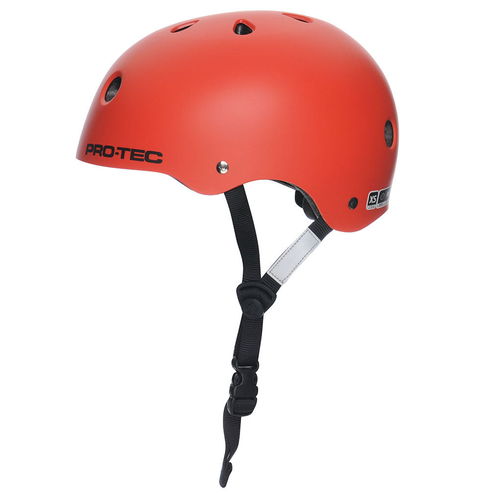 Pro-Tec Classic Street - Blood Orange - Skateboard Helmet