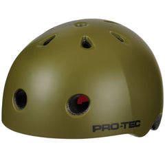 Pro-Tec City Lite - Satin Army Green - Skateboard Helmet