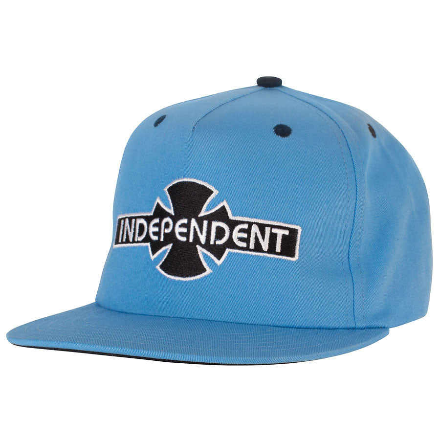 Independent O.G.B.C. Adjustable Snapback Twill - Blue - Men's Hat
