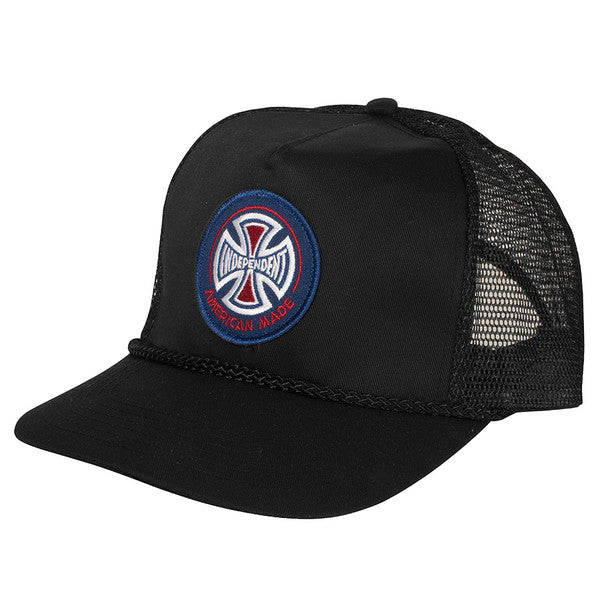 Independent AMI Patch Trucker Mesh - Black - Men's Hat