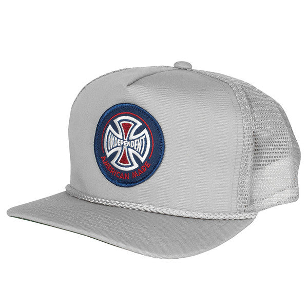 Independent AMI Patch Trucker Mesh - Grey - Men's Hat