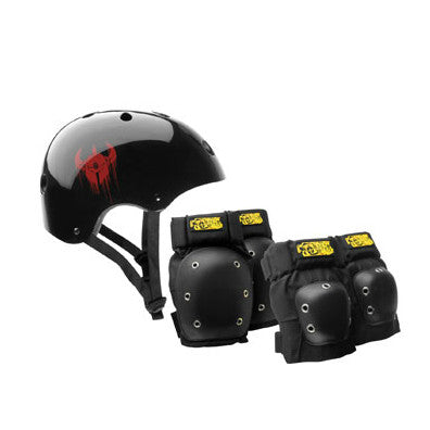 Darkstar Helmet and Pad Pack - Small / Medium