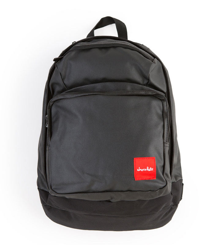 Chocolate Simple #2 - Black/Charcoal - Backpack