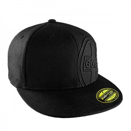 Bones Circle Swiss 3D LG/XL - Black - Men's Hat