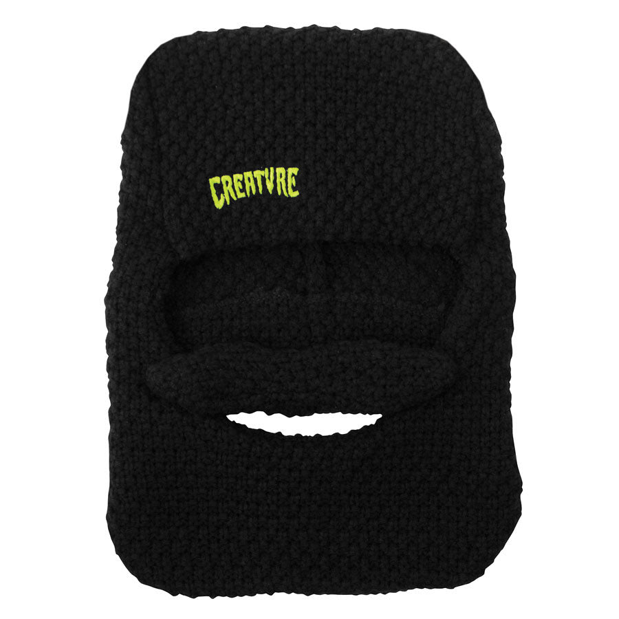 Creature Camp Counselor Beard Beanie - One Size Fits All - Black